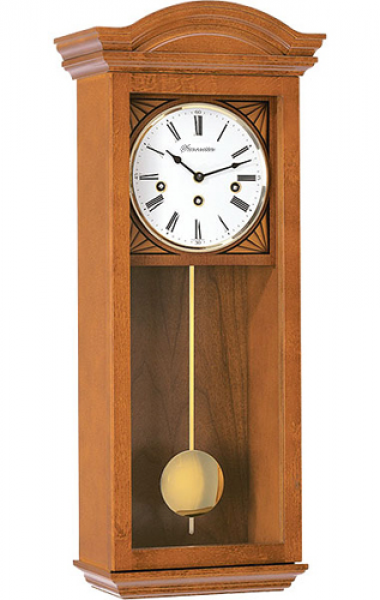 Wall Clock. Early American, traditional English style Regulator Wall ...