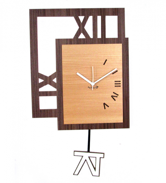 -square-with-pendulum-wall-clock-panache-square-with-pendulum-wall ...