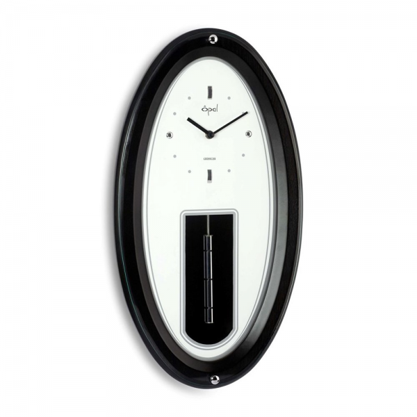 Opal Luxury Products 6345 Oval Case Pendulum Wall Clock | ATG Stores
