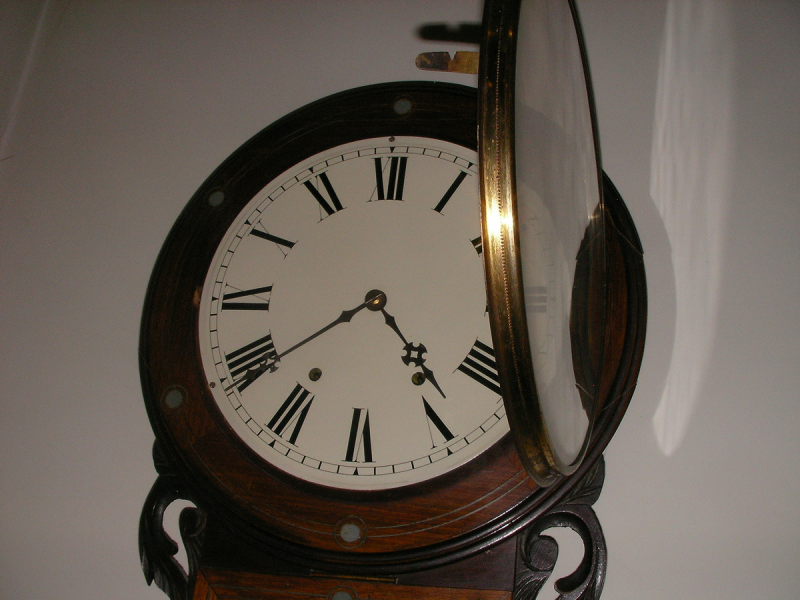 Chiming 8 Day Wall Clock | Collectors Weekly
