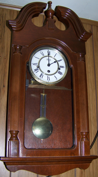 Sligh Eight day Wall Clock