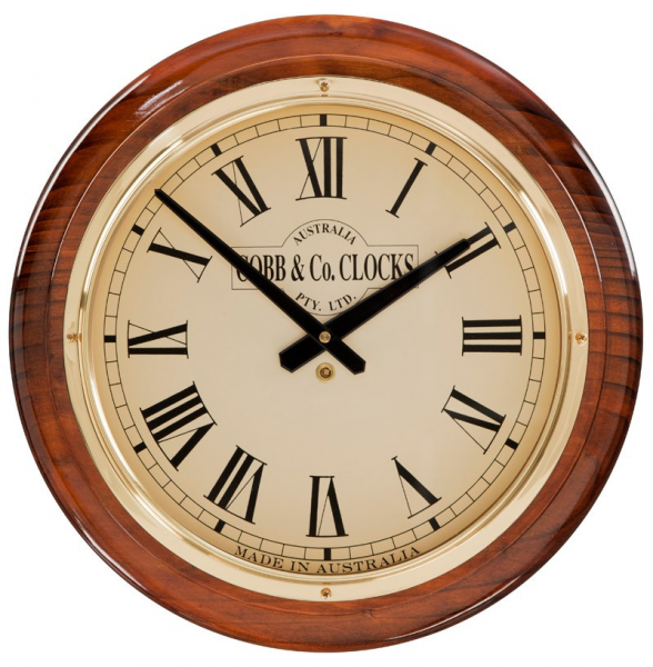 Traditional Wood & Timber Wall Clocks for Sale Online | COBB & Co. USA