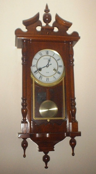 kassel 31 day grandfather wall clock approx 30 tall x