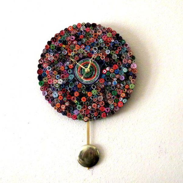 ... Recycled Clocks, Recycled Paper, Wall Clocks, Clocks Pendulum, Books