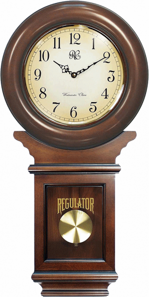 ... Heritage Antique Schoolhouse Clock WBL001409 Pendulum Wall Clocks