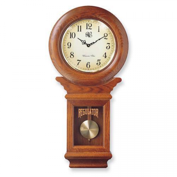School House Regulator Clock | eBay