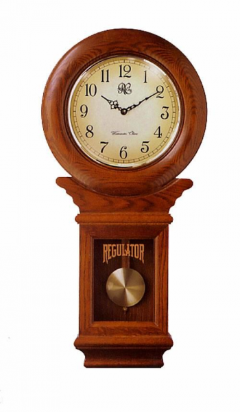 Regulator Schoolhouse_h1STRONGClassic Schoolhouse Regulator Wall Clock ...