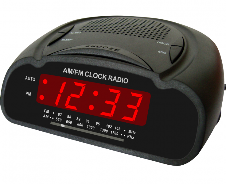 Digital Alarm Clock Radio Digital am-fm alarm clocks