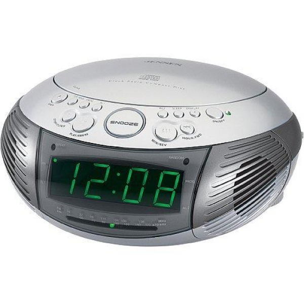 electronic: ALARM CLOCK RADIO CD PLAYER