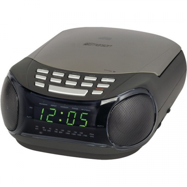 Alarm Clock With CD Player and AM/FM Radio - CKD9902 - Clock Radios ...