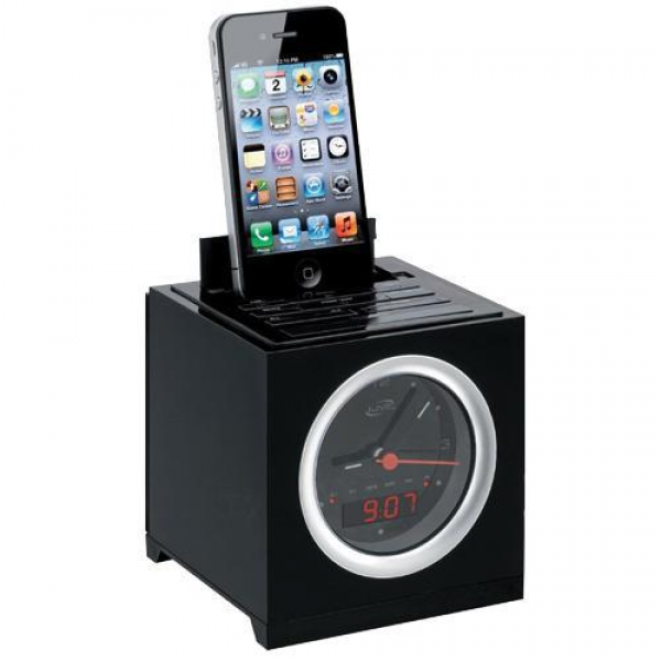 iLive ICP232B Clock Radio With Dual Alarm For iPod And iPhone, Made ...