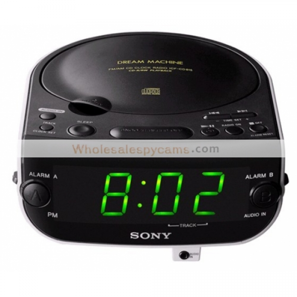 Home > Wholesale Spy Clock Camera DVR > Wholesale Sony Alarm Clock ...