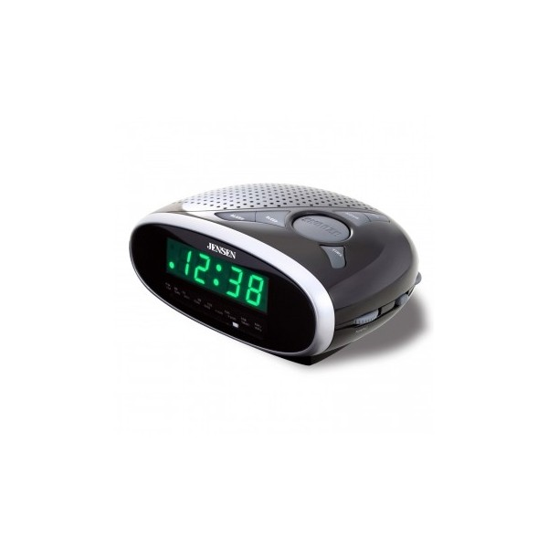 Jensen AM/FM Dual Alarm Clock Radio - TechGriffin.com