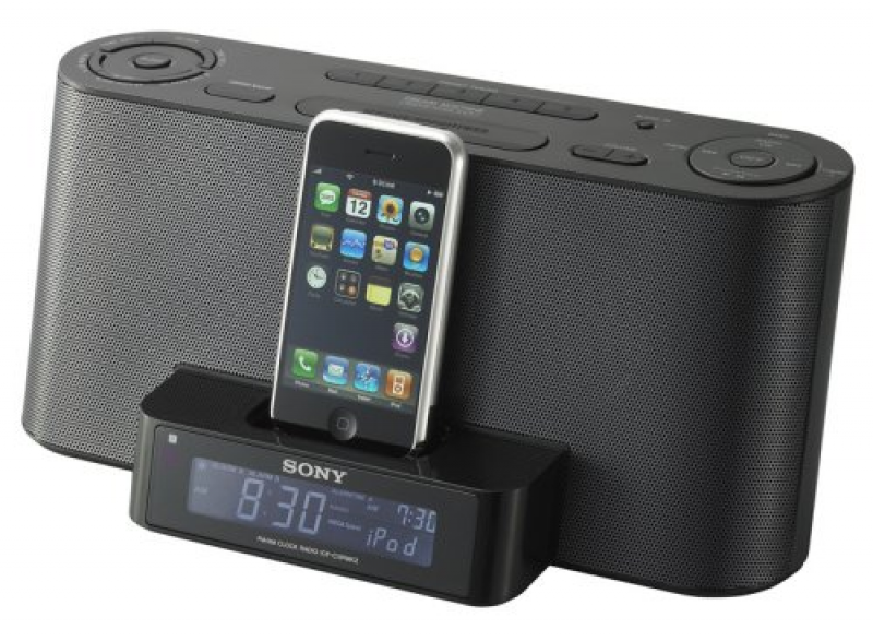 Sony ICFC1IPMK2BC iPod Docking Clock Radio - Alarm, iPod / iPhone ...