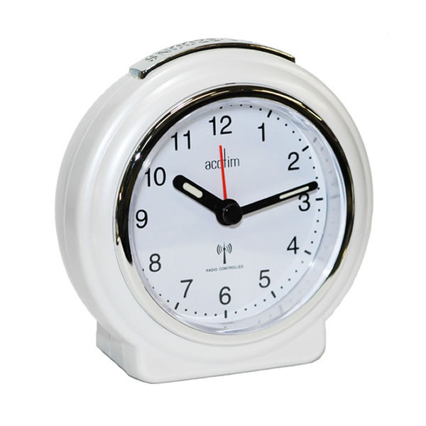 ... Analogue Alarm Clocks - Acctim Pegasus Radio Controlled Alarm Clock