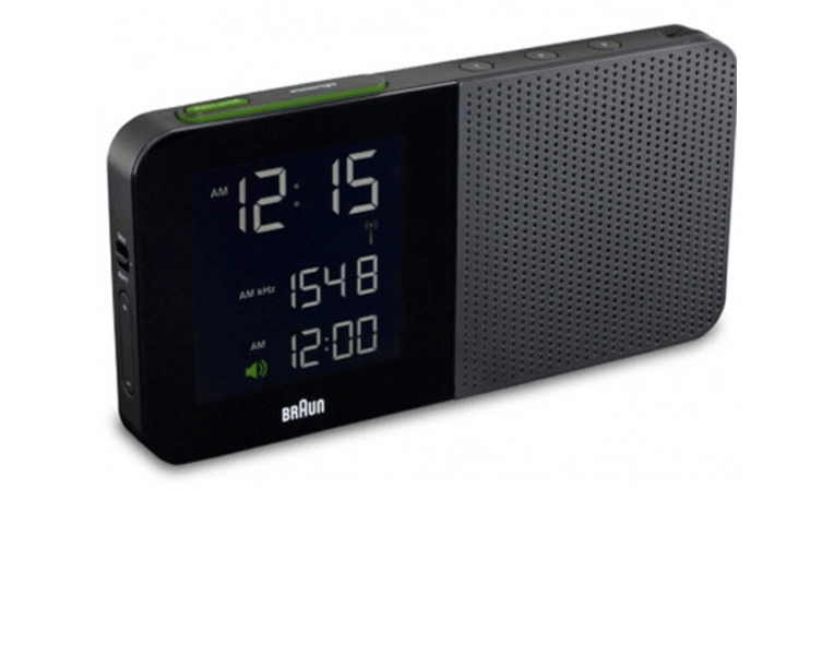 Braun BNC010RC Global Radio Controlled Alarm Clock Radio