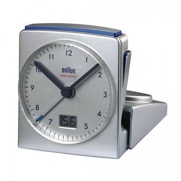 BRAUN TRAVELLING CLOCK AB325 RADIO-CONTROLLED ALARM CLOCK