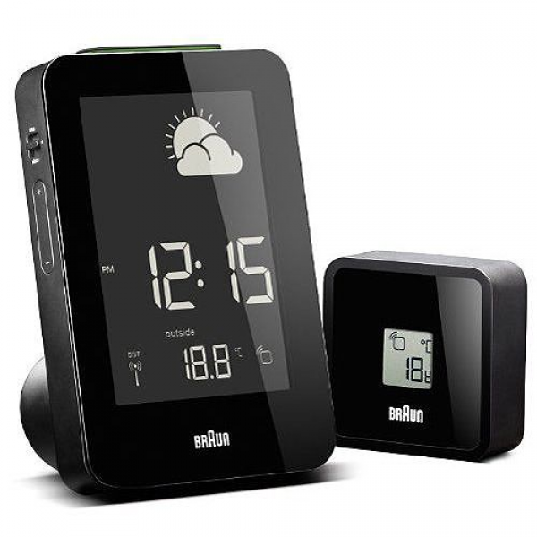 Braun Radio Controlled Weather Station Clock