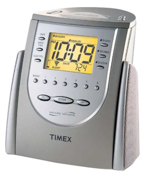 Timex Alarm Clock Radio with Nature Sounds T309T Retail $249 00 | eBay