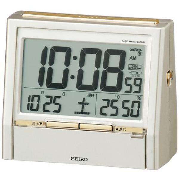 seiko digital radio alarm clocks radio alarm clocks www top clocks com. Black Bedroom Furniture Sets. Home Design Ideas