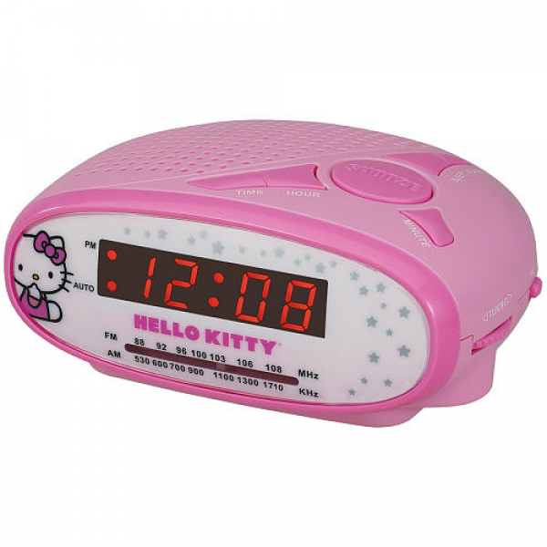 Hello Kitty AM/FM Alarm Clock Radio - Spectra - Toys R Us