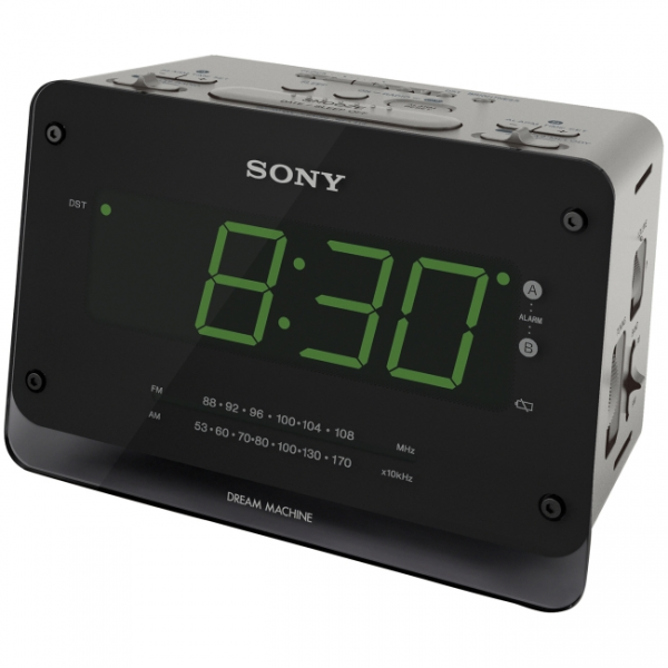 NEW SONY ICF C414 DREAM MACHINE AUTO TIME SET DUAL ALARM CLOCK RADIO ...