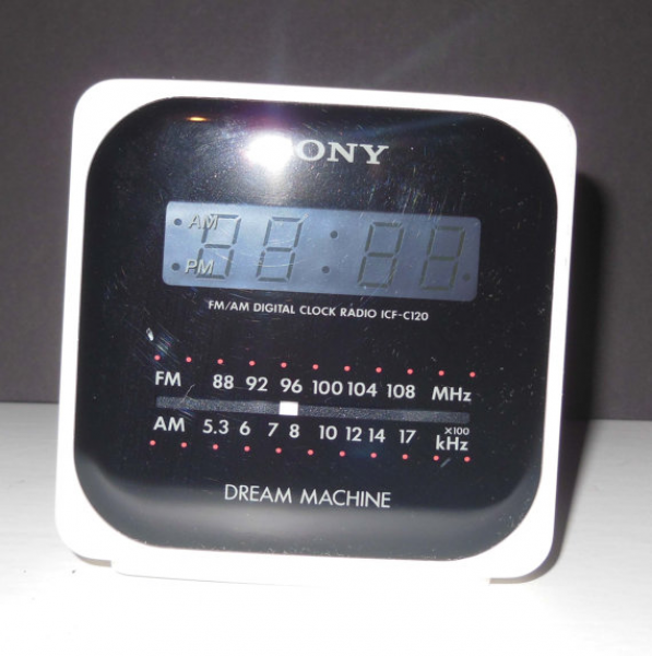 Vintage SONY Dream Machine Clock Radio by DavesVintageCave on Etsy