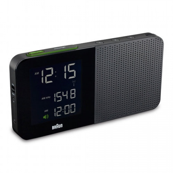Braun Digital Alarm Clock Radio BN-C010