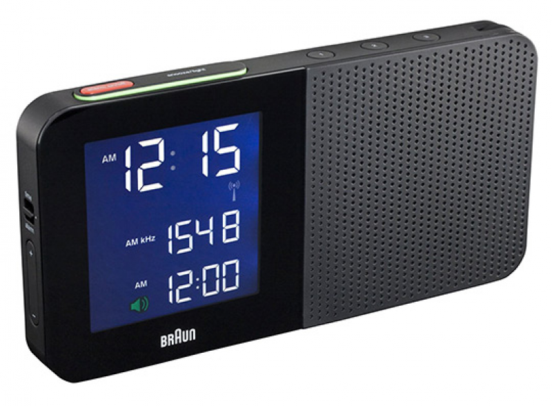 BRAUN Digital Alarm Clock Radios - Travel Size Included | Selectism
