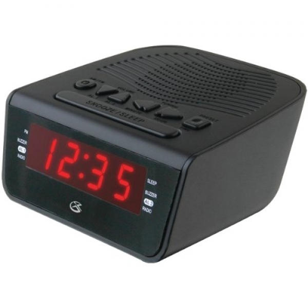clock radio with dual alarm digital products international c224b clock ...