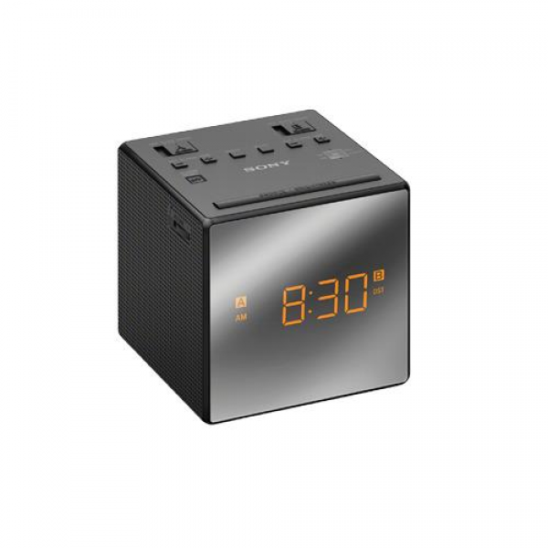 Sony ICF-C1TBLACK Alarm Clock With FM/AM Radio, Dual Alarms Allow You ...