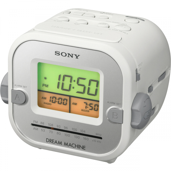 Sony ICF-C180 Clock Radio with Auto Time Set ICFC180 B&H Photo