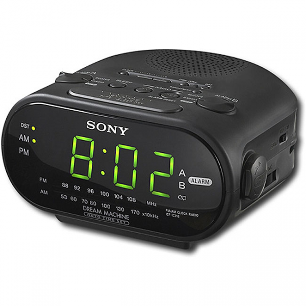 Sony ICFC318 Dual-alarm Clock Radio (Refurbished) - Overstock ...