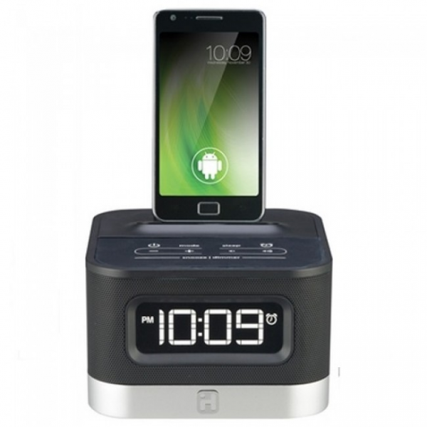 iHome iC50 FM Stereo Alarm Clock Radio for Android Smartphones Slider ...