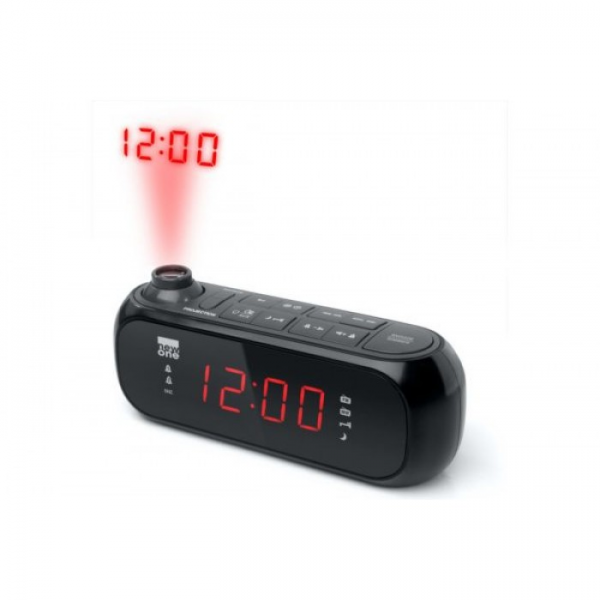 New One Alarm Clock Radio Projection - CR135