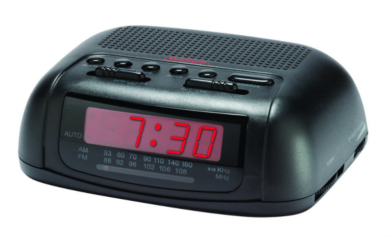 ... Alarm Clock Radios Sunbeam 89014 AM/FM Alarm Clock Radio with Red LED
