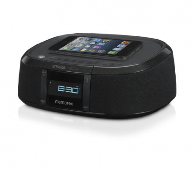 Buy Memorex MW453 Bluetooth Wireless Alarm Clock FM Radio w/ Universal ...