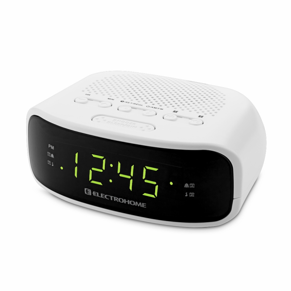 ... Digital AM/FM Clock Radio with Battery Backup & Dual Alarm (EAAC201
