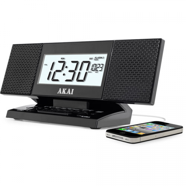 radio alarm clocks with usb port radio alarm clocks www top clocks com. Black Bedroom Furniture Sets. Home Design Ideas