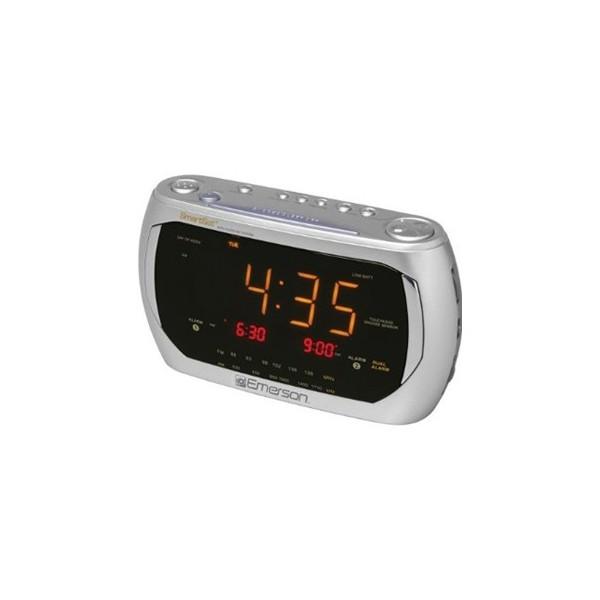 emerson am fm radio alarm clocks radio alarm clocks www top clocks com. Black Bedroom Furniture Sets. Home Design Ideas