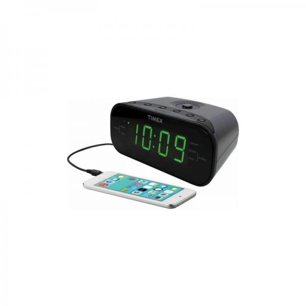 timex am fm dual radio alarm clocks radio alarm clocks www top clocks com. Black Bedroom Furniture Sets. Home Design Ideas