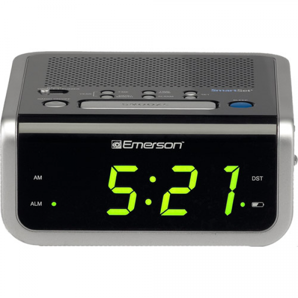 emerson cks1702 smartset alarm clock radio $ 28 05 features smartset ...