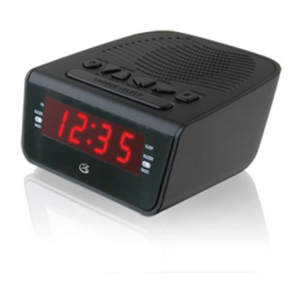 GPX Dual alarm Clock AM/FM Radio - Pricefalls.com