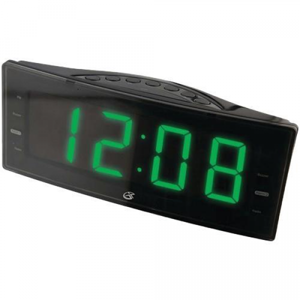 GPX C353B Digital Clock With Dual Alarm And AM/FM Radio | BrandsMart ...