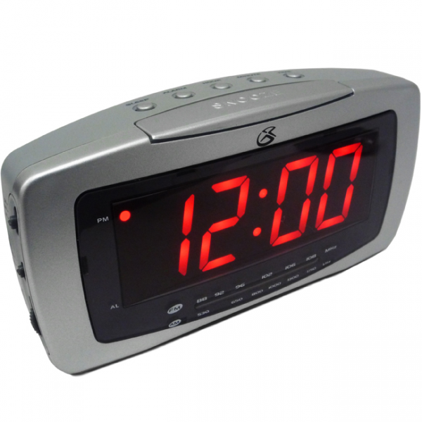 Details about GPX CR2307 AM/FM Clock Radio with Alarm