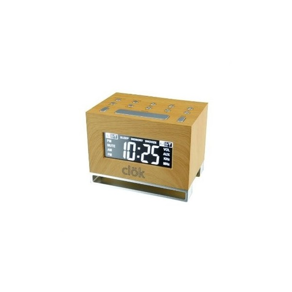 GPX Intelli-Set Clock with Digital Tune AM/FM Radio - TechGriffin.com