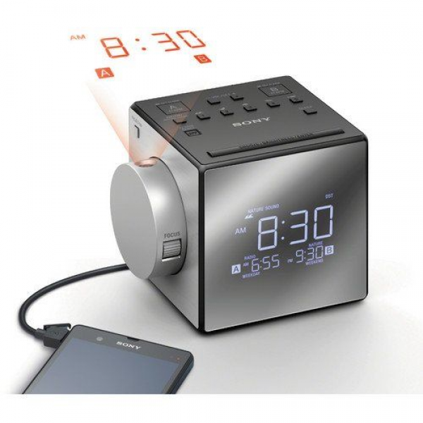 Sony Compact AM/FM Dual Alarm Clock | #Technology | Pinterest