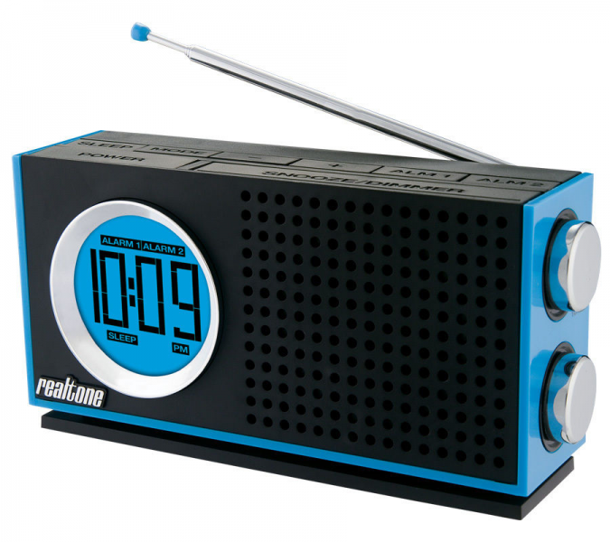 iHome RT212L Am FM AC DC Portable Dual Alarm Clock Radio | eBay