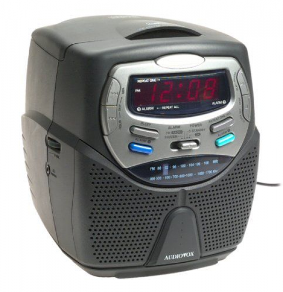 Am Fm Stereo Compact Disc Dual Alarm Clock: Radio Alarm Clocks - Top ...