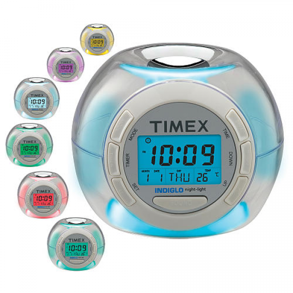 ... Color Changing Alarm Clock with Soothing Sounds - Timex - ToysRUs